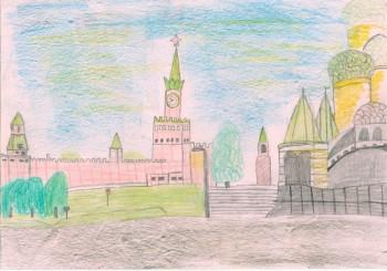 Гоголева Карина, воспитанница смены «Планета Лингва» Центра «Сосновый бор» победила в онлайн-конкурсе «Моя Москва»