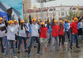 Участники смены «Я-инженер» украсили праздник, посвященный Дню Государственного флага России