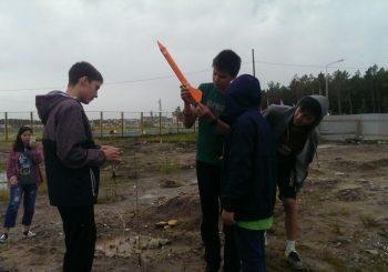 «Я-инженеры» запустили ракету!