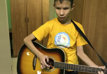 Беседа с юным талантом – Романом Винокуровым
