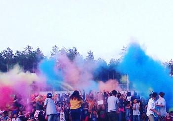 Лето в ярких цветах на Холи фест – 2016!