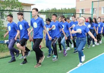 Смена «Суолдьут», посвященная VI Международным спортивным играм «Дети Азии» встречает своих участников