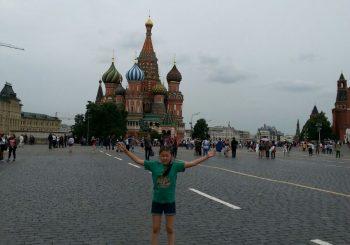 Гоголева Карина, победительница онлайн-конкурса «Моя Москва» приехала из Москвы